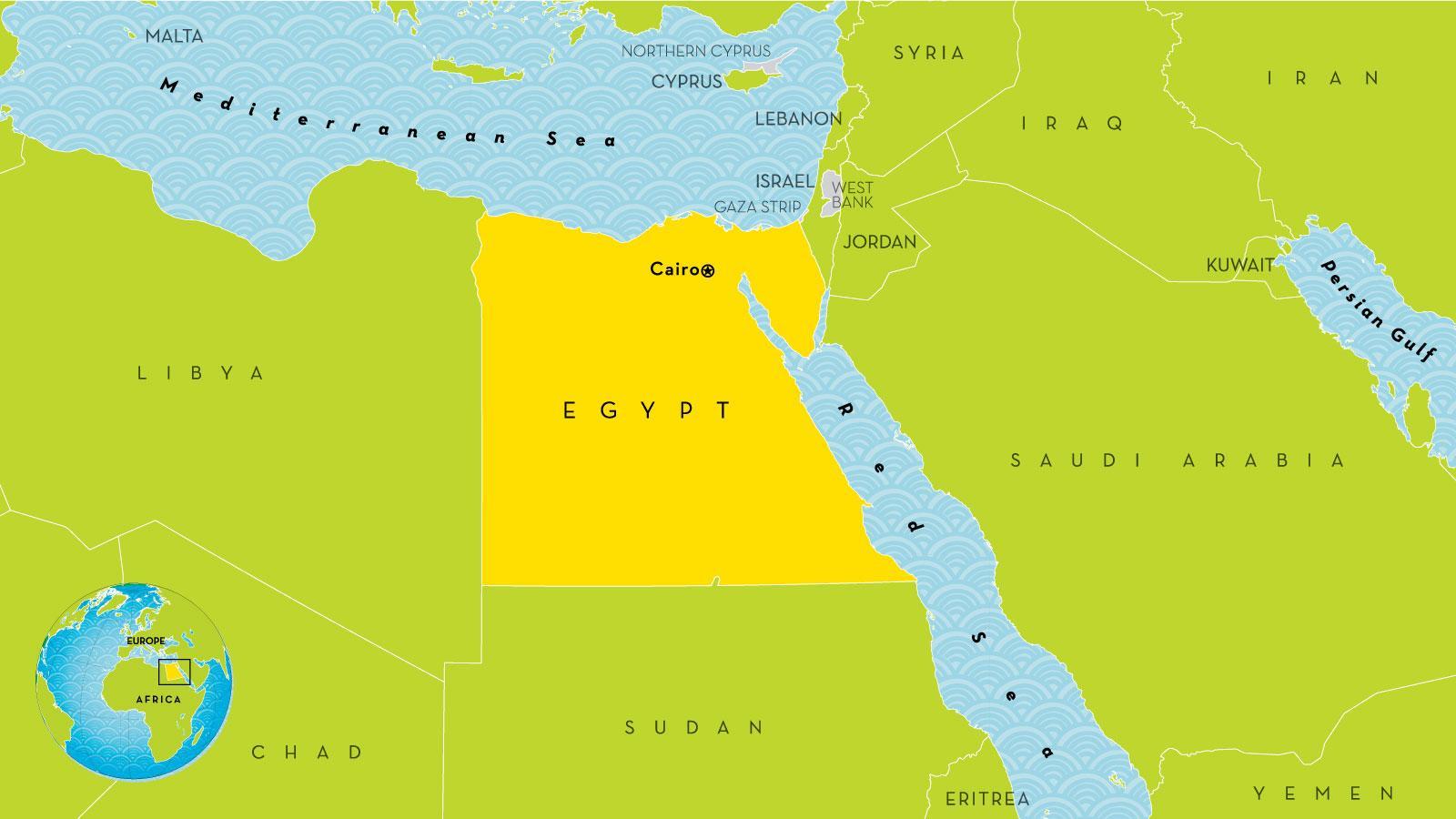 Paakaupunki Egypti Kartta Paakaupunki Egypti Kartta Egypti
